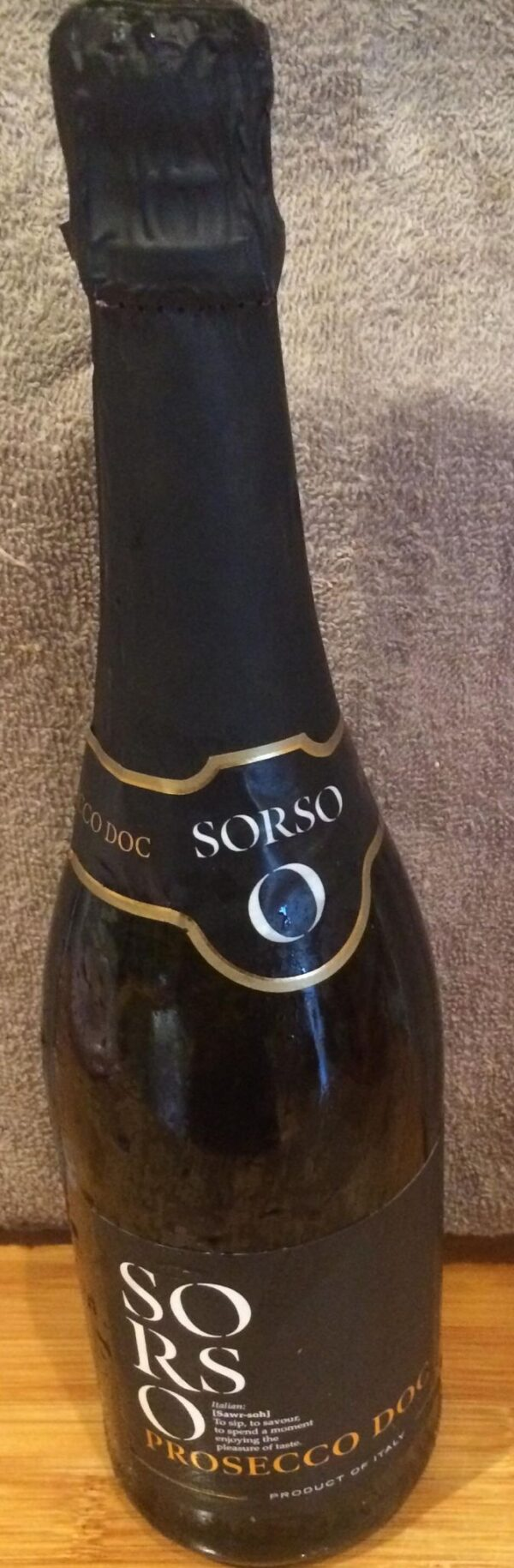 Bottle of Prosecco