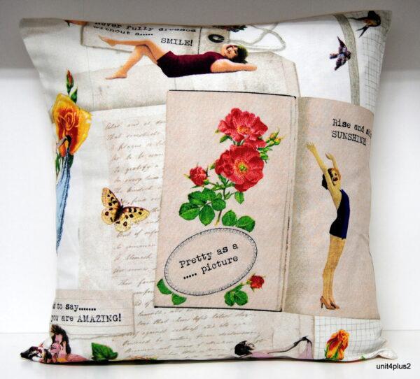 Glamour Girls Cushion A