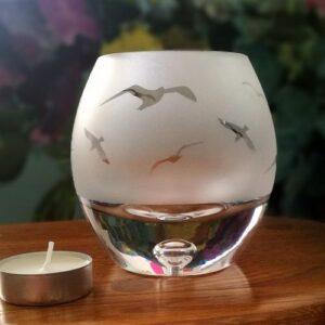 Tealight Holder (Seagulls)